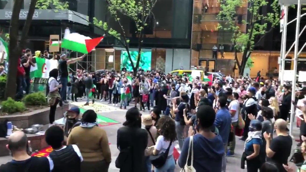Hundreds in New York City Return to the Streets in Support of Palestine