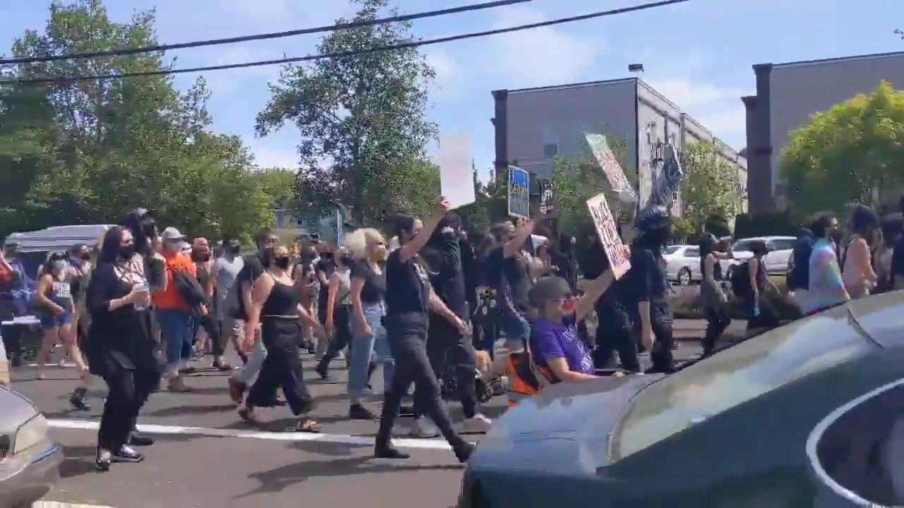 Hundreds in Portland Continue Marching for Patrick Kimmons