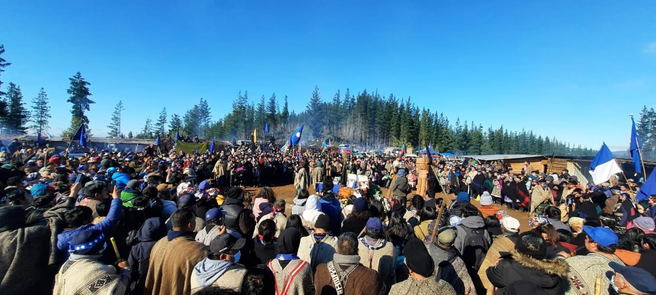 Thousands Gather for Funeral of Insurgent Mapuche Chief Killed by Chilean Police